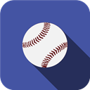 Ball, play, Games, sports, baseball DarkSlateBlue icon