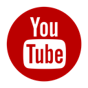 online, Social, video, youtube, media, movie, play DarkRed icon