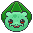 Go, pokemon, Game, play, Bulbasaur DarkSlateGray icon