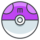 Ball, play, Go, master, Game, pokemon Gainsboro icon