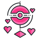play, virtual, Go, Game, reality, love, pokemon Black icon