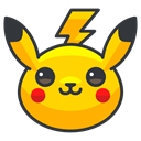 Pikachu, Game, play, Go, pokemon Gold icon