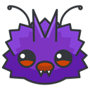 play, Game, Go, venonat, pokemon DarkSlateGray icon