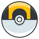 Go, pokemon, Ball, ultra, play, Game DarkSlateGray icon