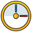 play, Game, pokemon, Go, time, Clock Gainsboro icon