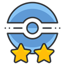 poke, trainer, pokemon, Game, Go, two, star Black icon