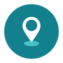 spot, location, point, Citycons DarkCyan icon