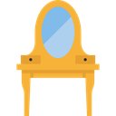 Mirror, table, Dresser, furniture, Furniture And Household Goldenrod icon