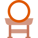 music, Percussion Instrument, traditional, musical instrument, Asian, japanese, Taiko, Orchestra Black icon