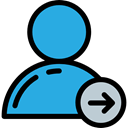 Social, Avatar, following, social media, user, people, profile, follower, Seo And Web DodgerBlue icon
