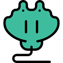 Aquarium, Animals, ray, Aquatic, Manta Ray, Sea Life LightSeaGreen icon