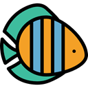 Animal, fish, Animals, Supermarket, fishes, Foods, food, meat, Meats Black icon