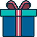 gift, birthday, Christmas Presents, miscellaneous, present, surprise Icon