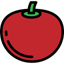 diet, food, Fruit, organic, Healthy Food, Tomato, vegan, vegetarian Firebrick icon
