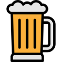 food, Alcoholic Drink, Pint, Alcohol, beer, Jar, pub, Bar Black icon