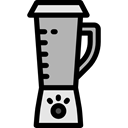 Blender, Mixer, kitchenware, Cooking, Tools And Utensils Black icon