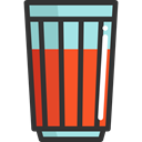 soda, drinks, food, drink, beverage, Food And Restaurant, glass DarkSlateGray icon