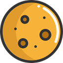 baker, Food And Restaurant, food, Biscuit, cookie, Dessert, Bakery Goldenrod icon