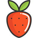 Healthy Food, Food And Restaurant, Fruit, vegan, food, diet, strawberry, organic, vegetarian Tomato icon