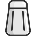 shaker, Food And Restaurant, Salt, food, Cooking, Condiment Gainsboro icon