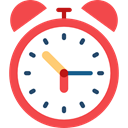 Wait, time, Tools And Utensils, Clock, waiting, hour Tomato icon