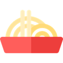 Pasta, Food And Restaurant, Spaguetti, noodles, food, Italian Food Tomato icon
