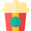 Fast food, snack, Salty, cinema, popcorn, Food And Restaurant, food Tomato icon
