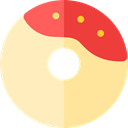 Dessert, doughnut, donut, Food And Restaurant, food, sweet, baker Bisque icon