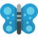 butterfly, Moths, Animals, insect SteelBlue icon