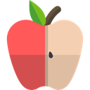 Healthy Food, Fruit, vegan, organic, diet, Apple, vegetarian, food, Food And Restaurant Tomato icon