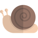 Snail, Aquarium, Aquatic, Animal, Sea Life, Animals DimGray icon