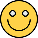 emoticons, Smileys, Emoji, feelings, smile SandyBrown icon