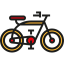 Side View, transportation, Bike, profile, Bicycle, transport, vehicle Black icon