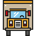 Delivery Truck, transportation, transport, Automobile, Cargo Truck, truck, Lorry Tan icon