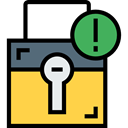 padlock, privacy, cancel, Tools And Utensils, security, Lock, Block SandyBrown icon