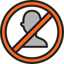people, Social, Block, Avatar, user, Multimedia, stick man, profile Black icon