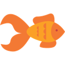 Aquatic, Animals, Aquarium, ocean, goldfish, Sea Life Coral icon