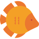 Aquarium, fish, Animal, Animals, Aquatic, Sea Life Goldenrod icon