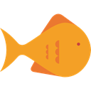 Animal, Aquatic, Sea Life, Animals, Aquarium, fish Goldenrod icon