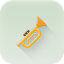 Trumpet Gainsboro icon