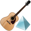 level, instrument, guitar Icon