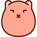 wildlife, rodent, Animal Kingdom, Animals, hamster LightSalmon icon