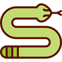zoo, reptile, snake, Animal Kingdom, Animals, Wild Life DarkKhaki icon