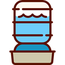 machine, Bottle, refreshing, food, water, refresh, Tools And Utensils Maroon icon