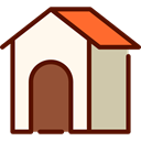 Animals, kennel, Doghouse, Dog House, Furniture And Household SeaShell icon