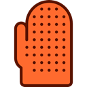 Protection, kitchen, mitten, Fireproof, food, Tools And Utensils, gloves, glove Tomato icon