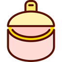 Tinned Food, food, Can, vegetable, Canned Food, Animals, vegetarian MistyRose icon