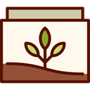 pet, soil, Foliage, Pets, nature, Plants, growth Icon