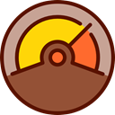 Celsius, Fahrenheit, miscellaneous, Degrees, thermometer, temperature, Tools And Utensils Sienna icon