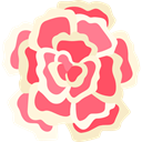 Flower, Carnation, Botanical, petals, blossom, nature BlanchedAlmond icon
